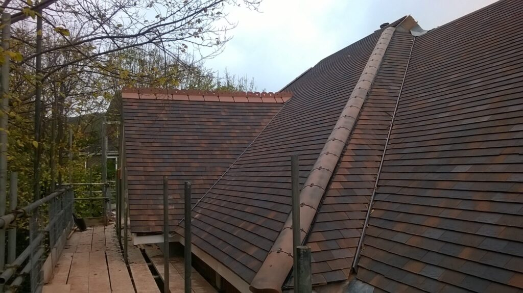 Eastbourne care home roof line