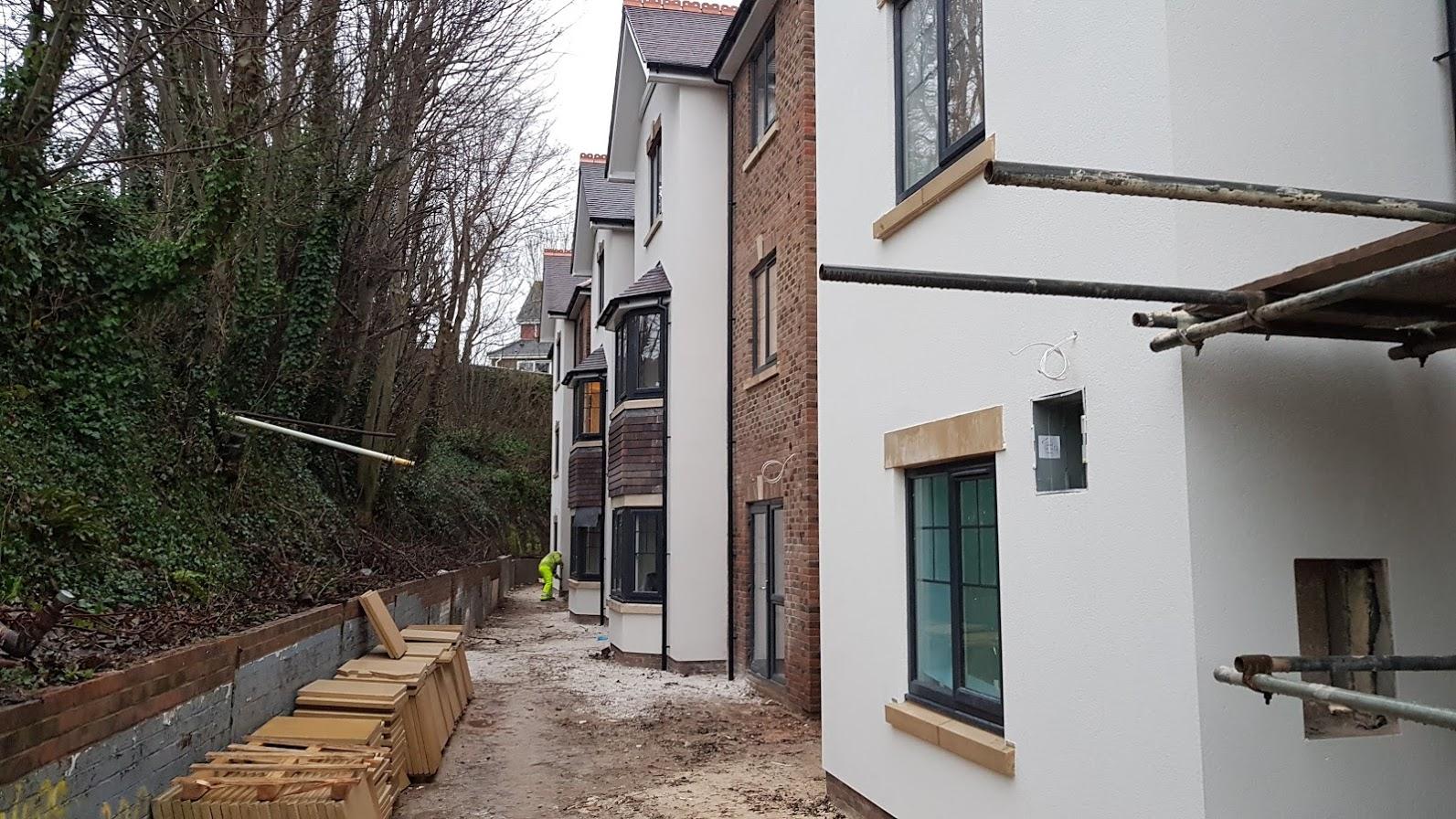 Eastbourne care home exterior