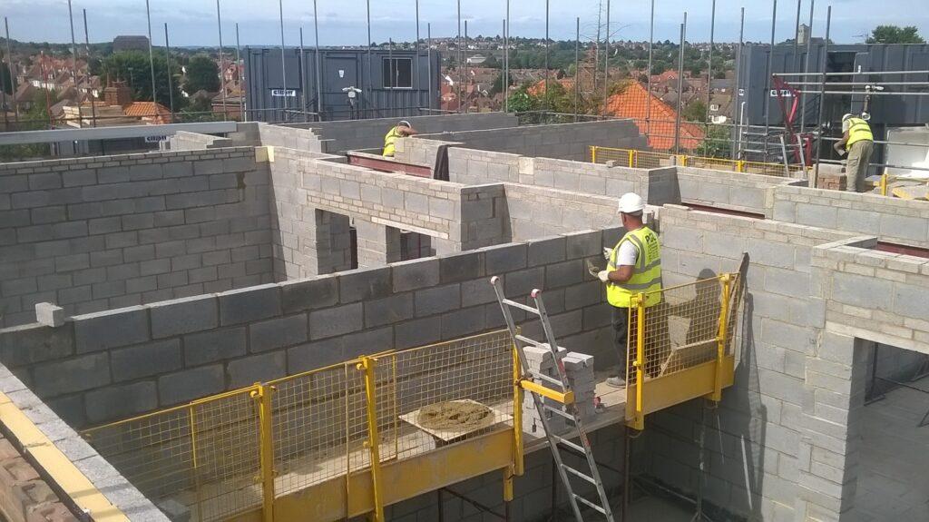 care home construction external walls eastbourne